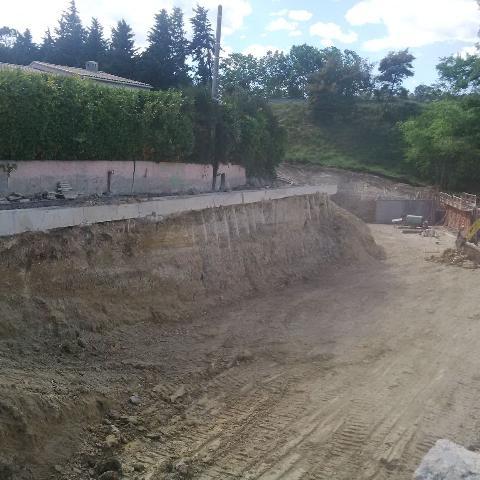 Travaux sout ment fondation profonde dans les alp for Etude de sol fondation